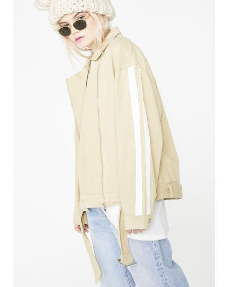 Natural Baddie Influence Moto Jacket