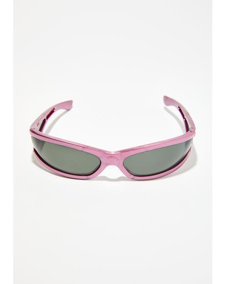 I'm Bossy Wrap Sunglasses