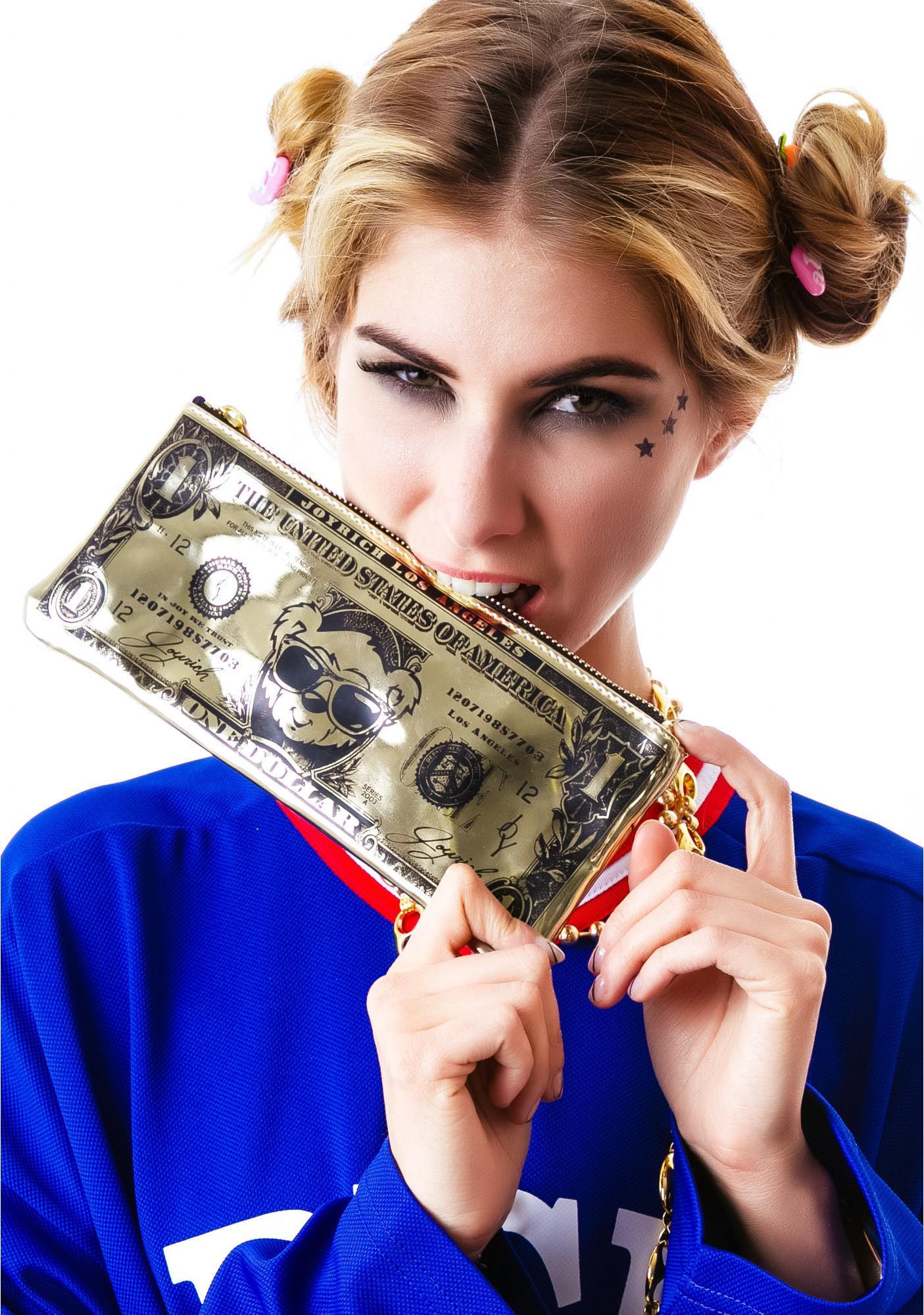 Joyrich Cuddle Currency Clutch Bag