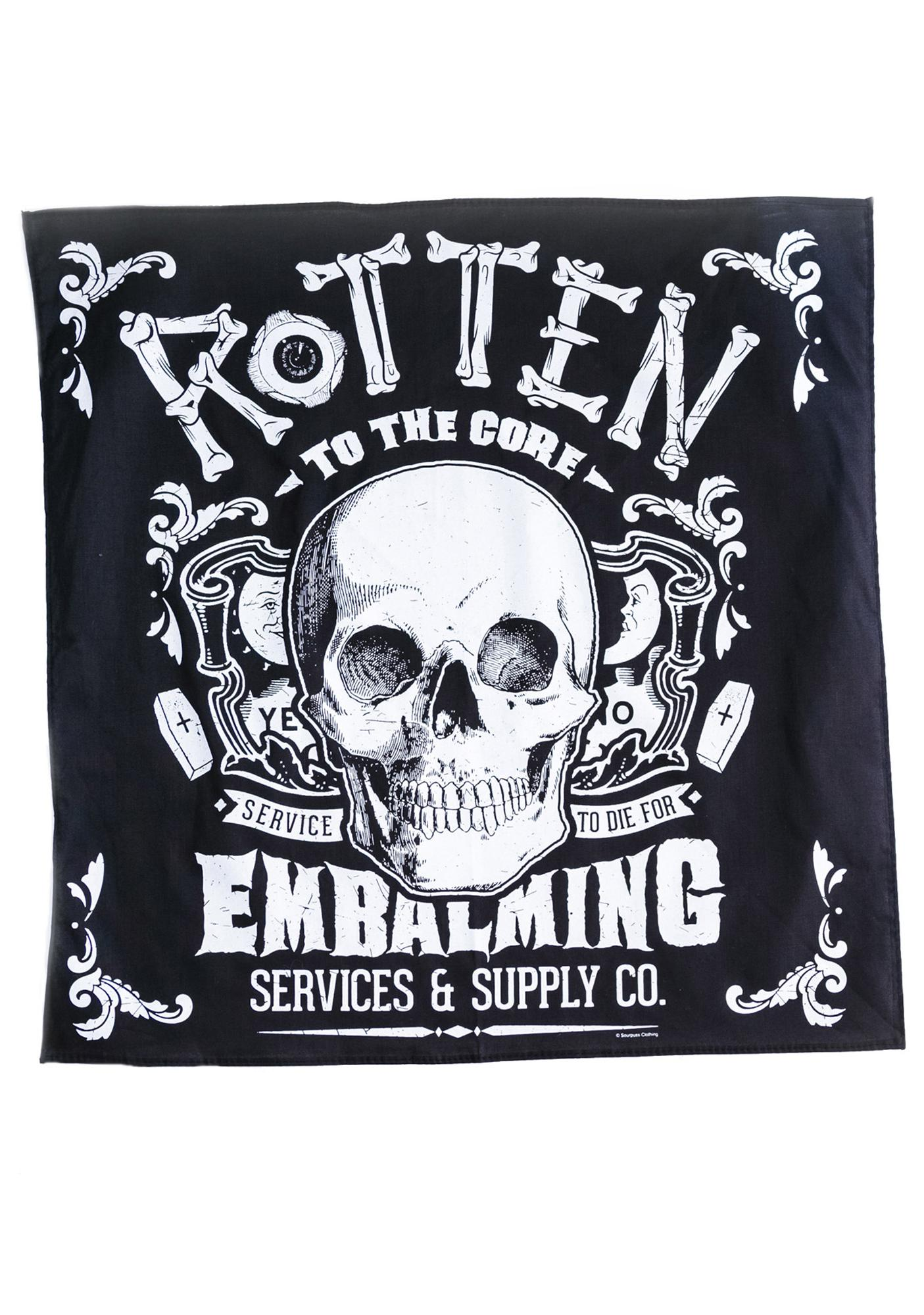 Sourpuss Clothing Rotten to the Core Bandana
