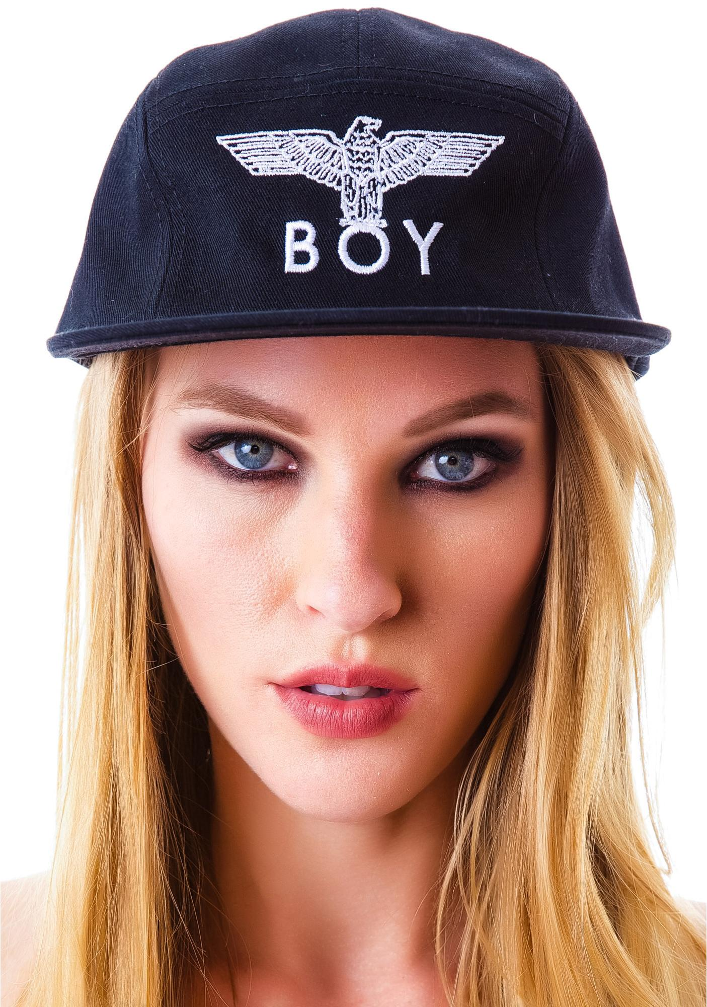 BOY London BOY Five Panel Racer Cap