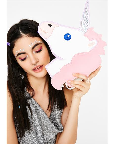 Mystical Unicorn Crossbody Bag