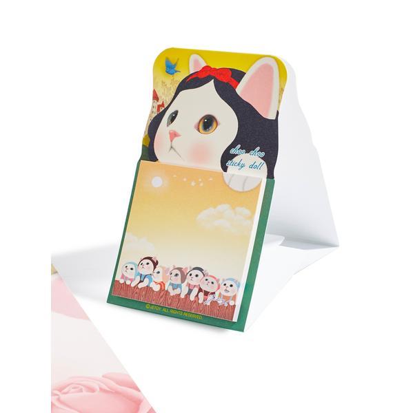 Jetoy Choo Choo Sticky Memo Pad