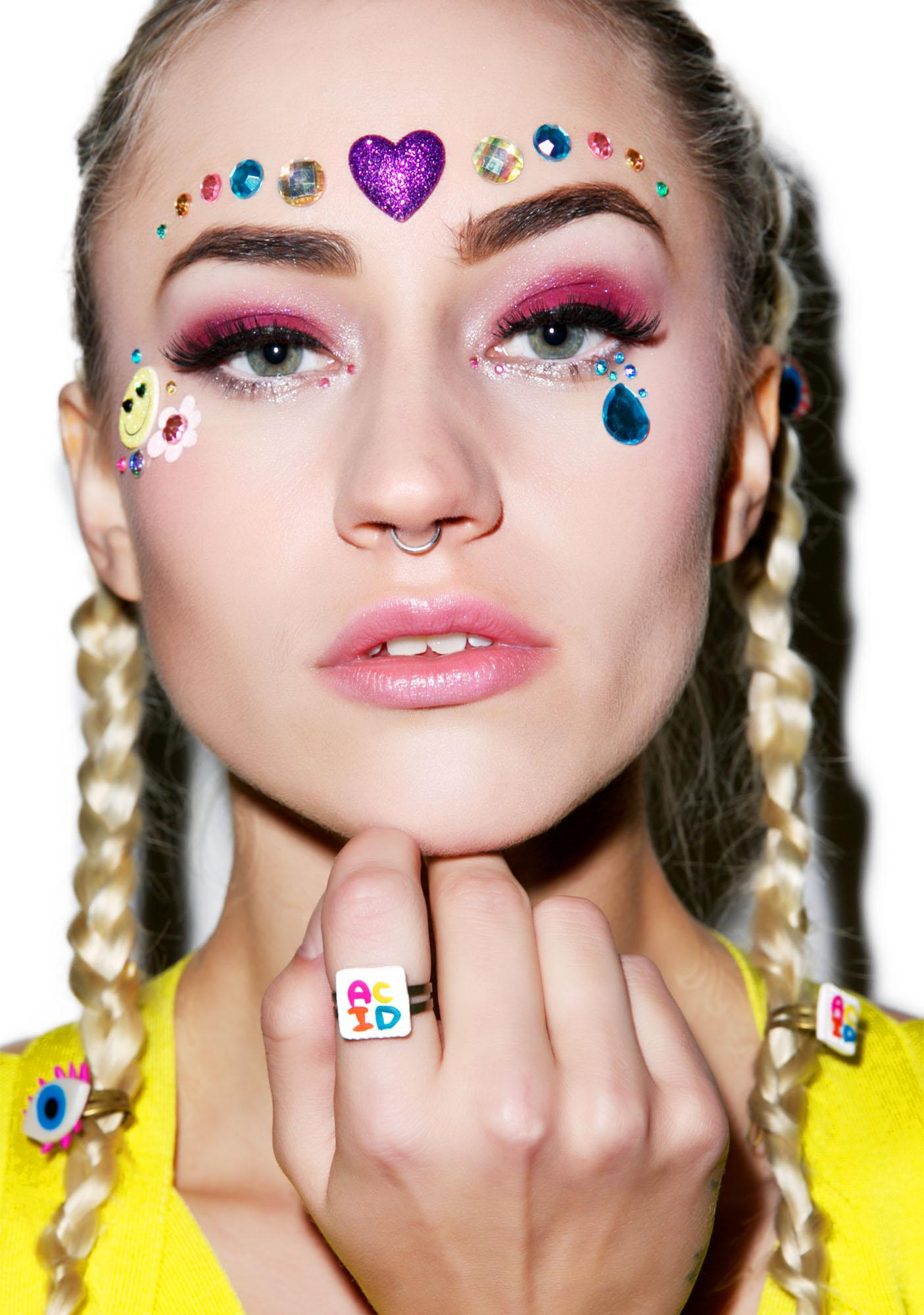 Wicked Hippie x Dolls Kill Acid Blotter Ring
