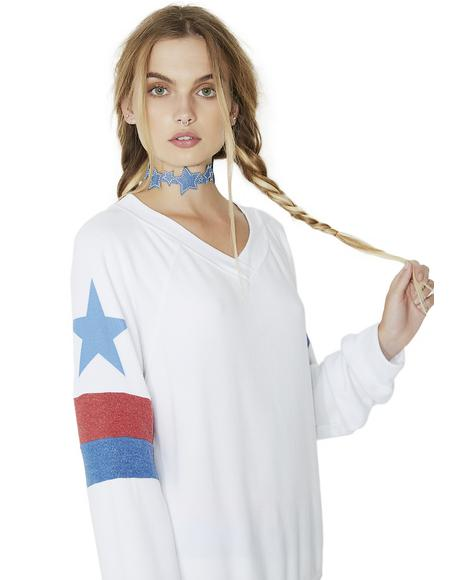 Star Spangled Gidget Beach Jumper