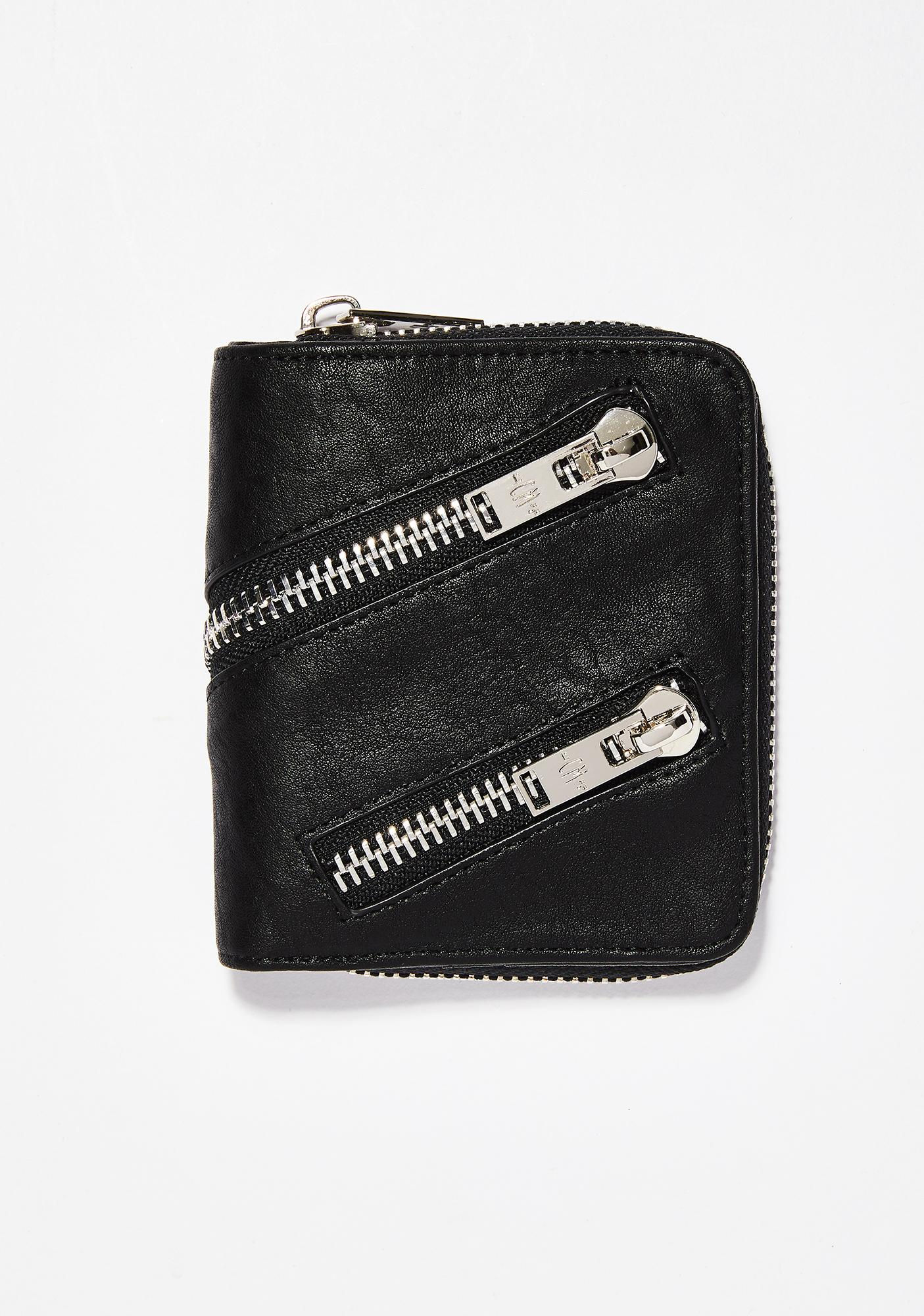 Current Mood Just Zip It Wallet