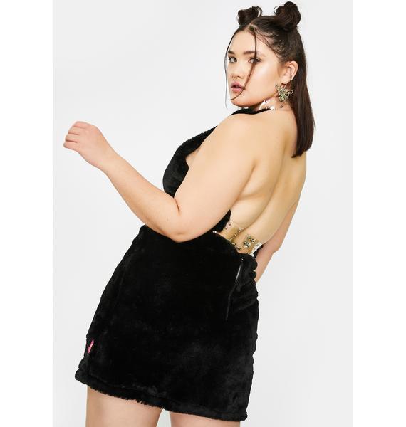 Club Exx Divine Pixie Fuhreak Fur Skirt