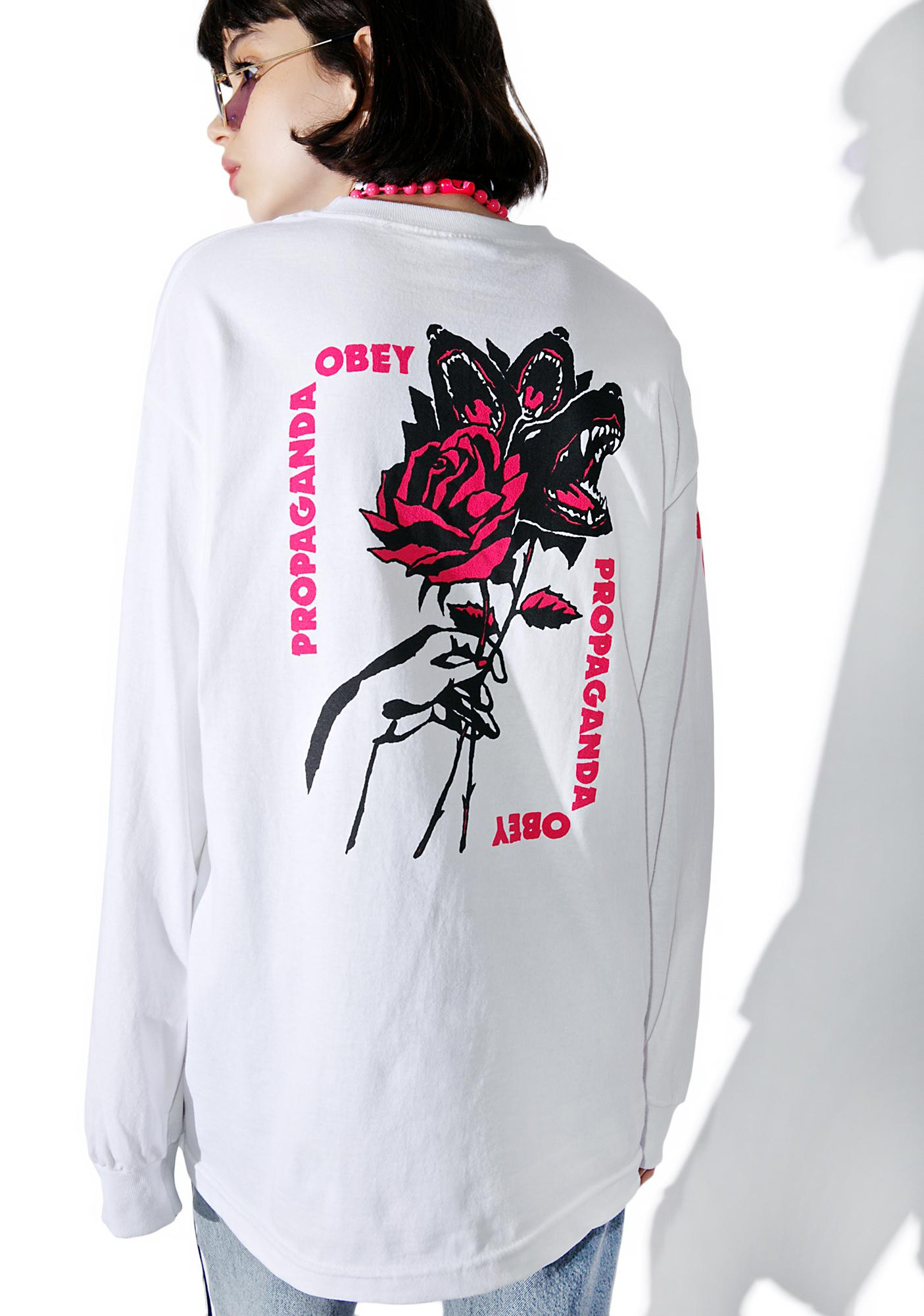 Obey Modern Lovers Long Sleeve Tee