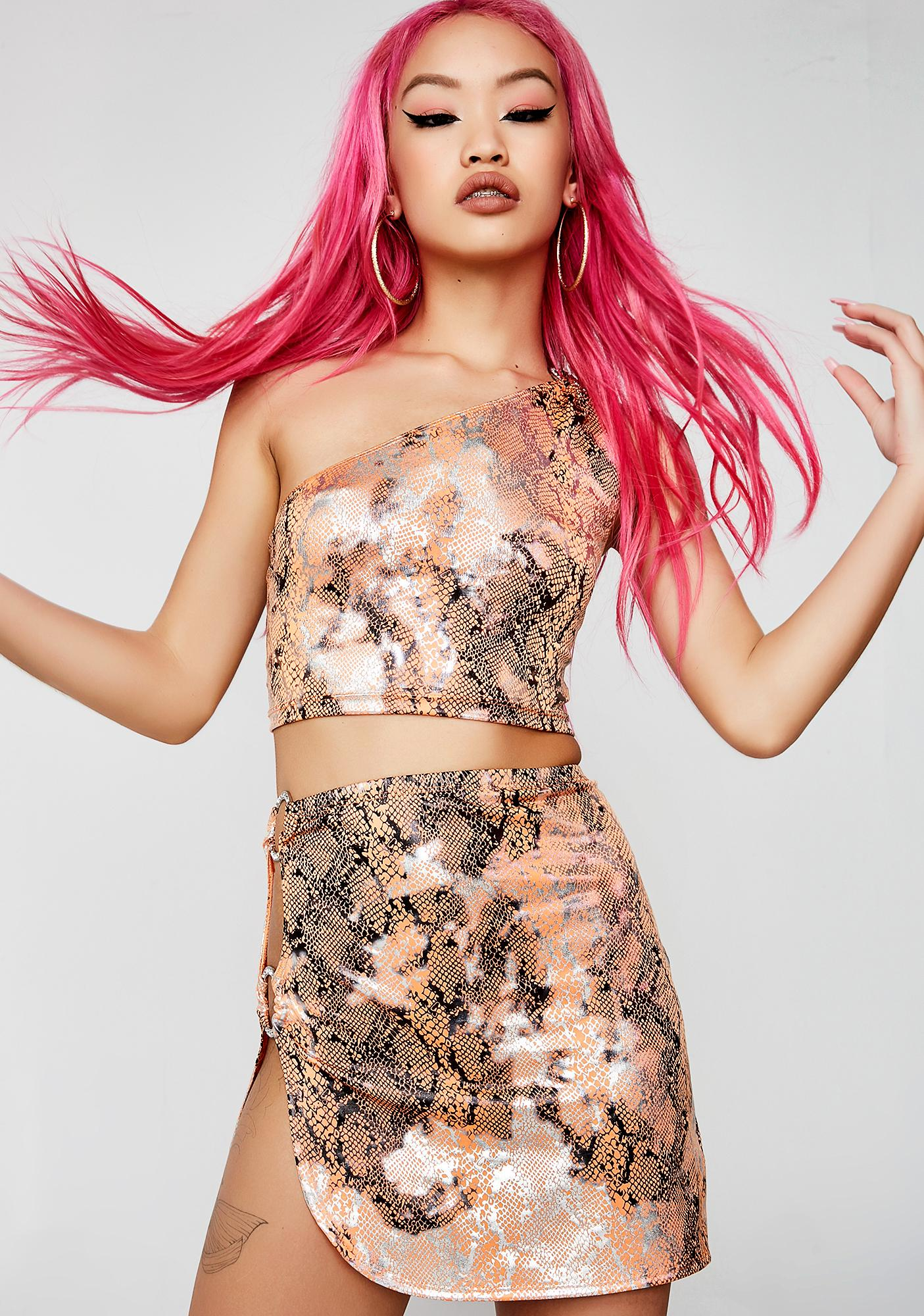 Poster Grl Poison Bite Mini Skirt