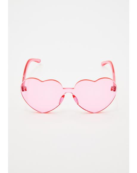 Sweet Sensation Heart Sunglasses