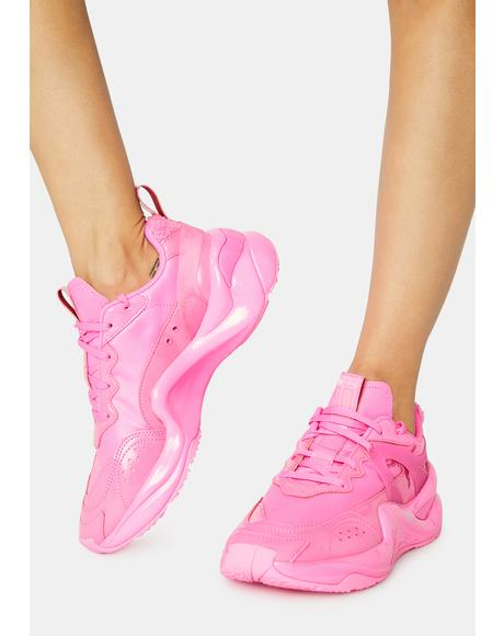 Rise Pretty Pink Sneakers