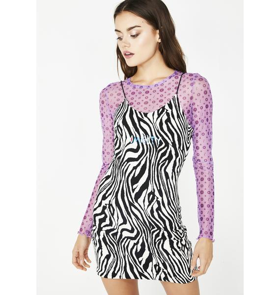 O Mighty Zebra Mini Dress