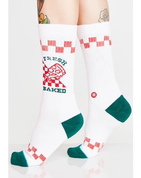 Fresh Baked Crew Socks