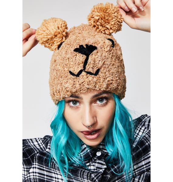 No Honey Bear Beanie