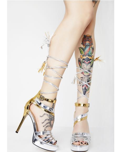 Stay Under Wraps Heels