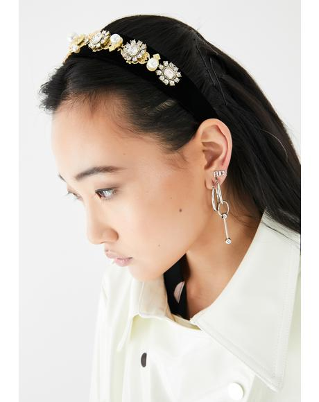 Forever Spoiled Jeweled Headband