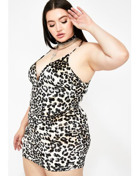 Lavish N' Legendary Leopard Dress