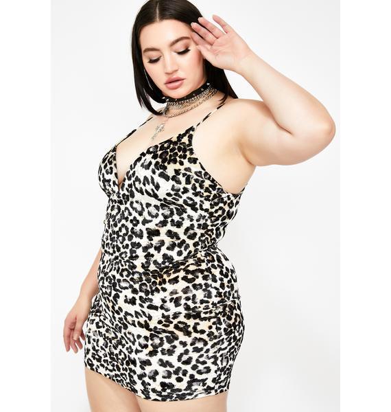 Lavish N' Legendary Leopard Dress