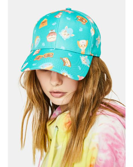 It's A Wild World Animal Crossing Baseball Cap
