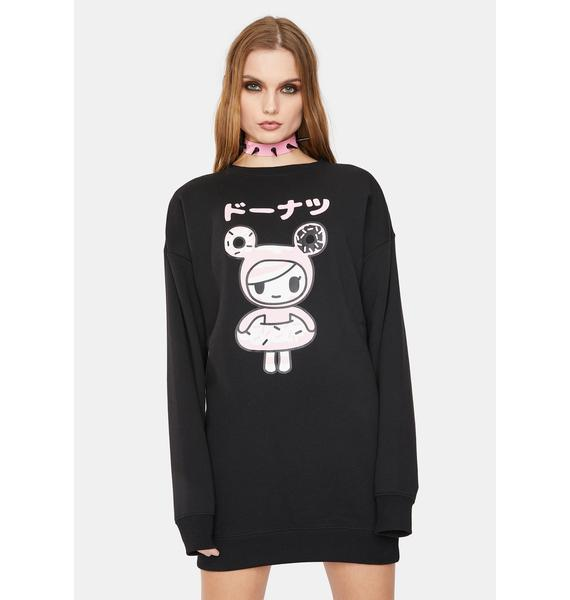 Tokidoki Donutella Sweatshirt Dress