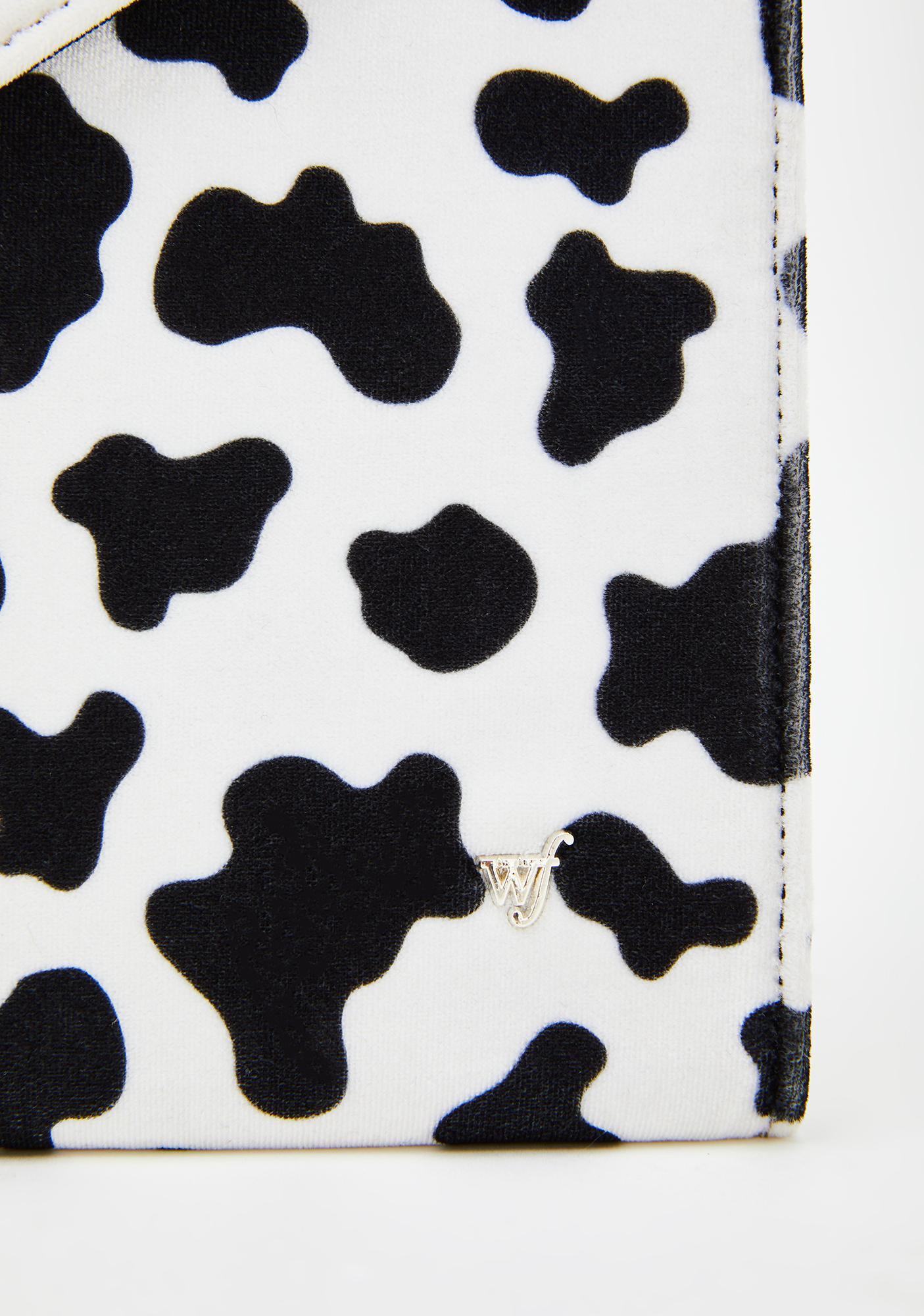 Wildflower Moo Moo Clutch Laptop Bag