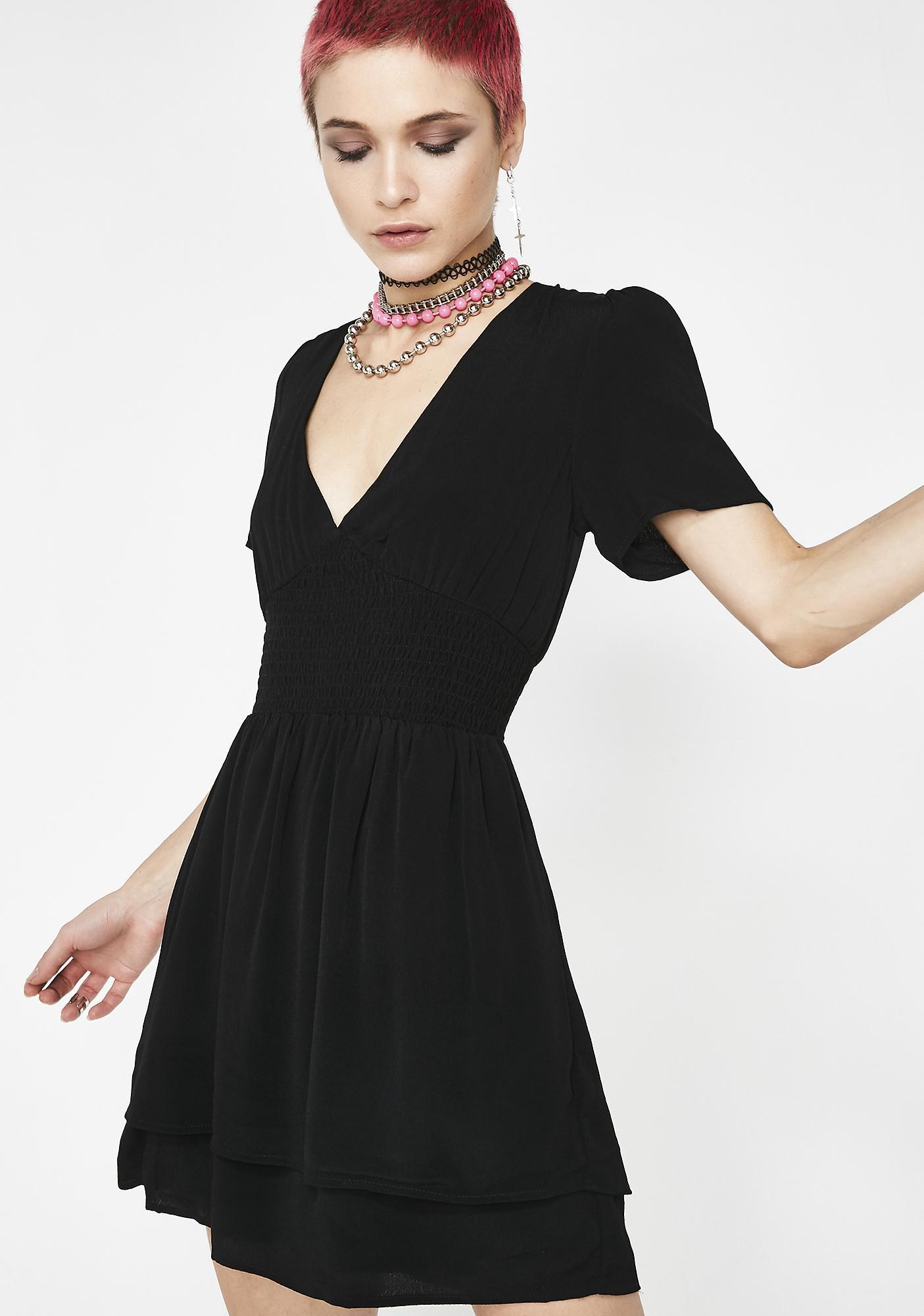 Mind Over Matter Cinched Dress
