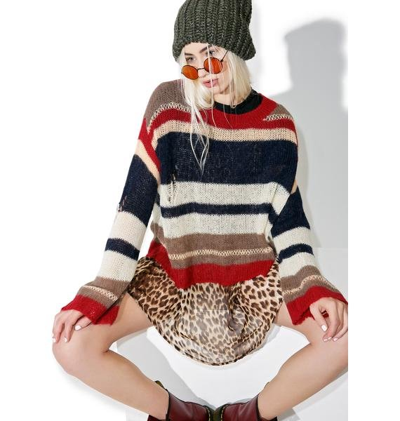 Wildfox Couture Dream Haze Yarn Sweater