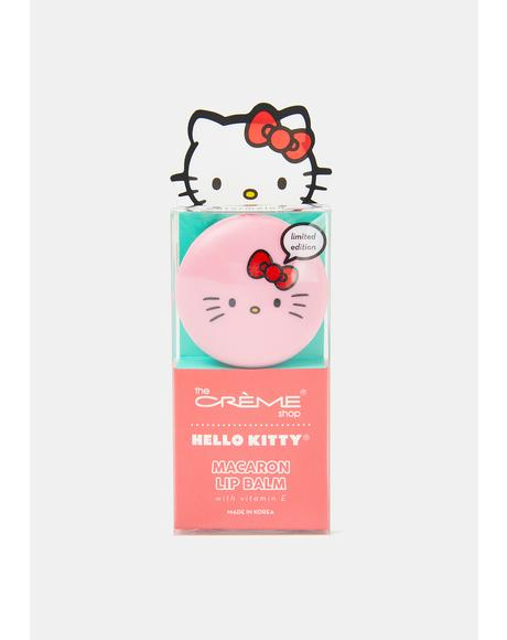 Hello Kitty Watermelon Macaron Lip Balm