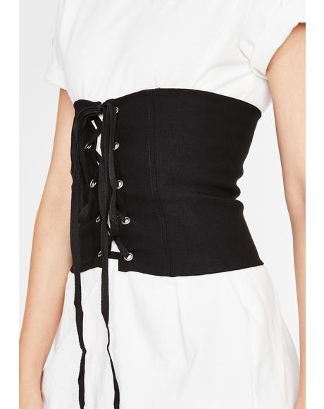 Tragic High Strung Corset Belt