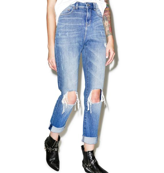 Cheap Monday Donna Destroy Mom Jean