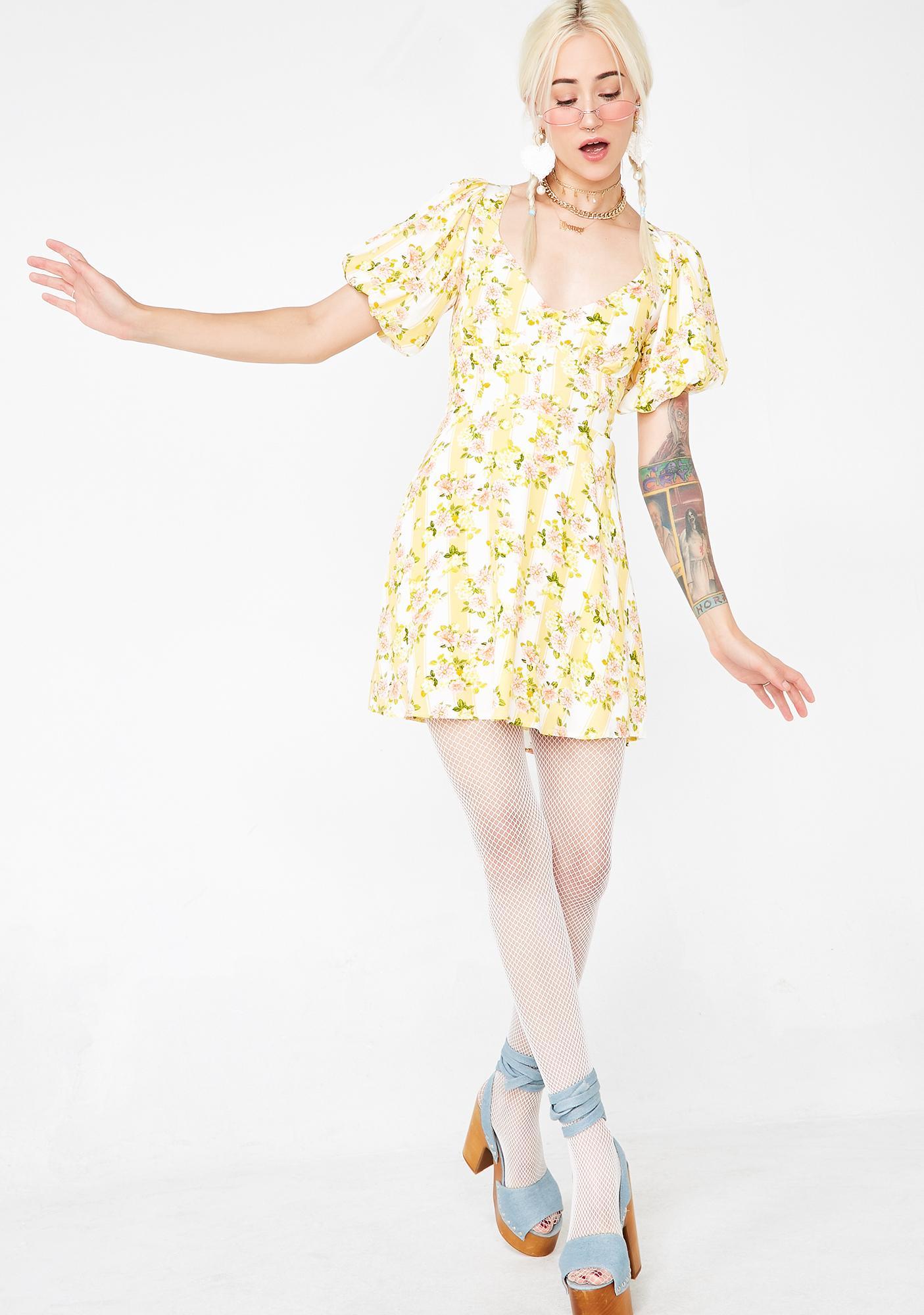 For Love & Lemons Atlanta Mini Dress