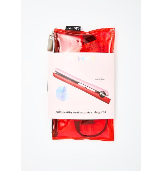 Eva NYC Broken Heart Mini Healthy Heat Ceramic Styling Iron