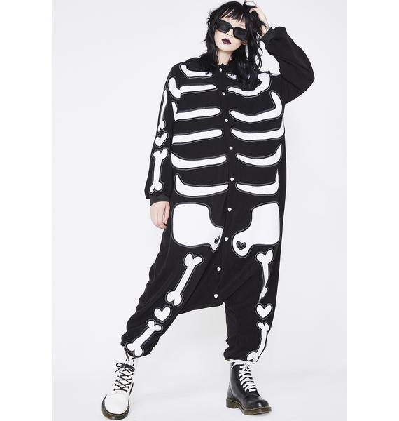 Dolls Kill Uniskelly Onesie