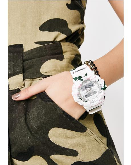 White Camo Watch