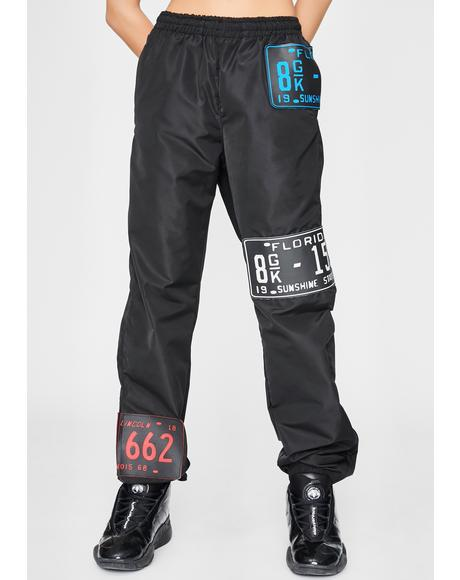Licensed Trouble Jogger Sweatpants