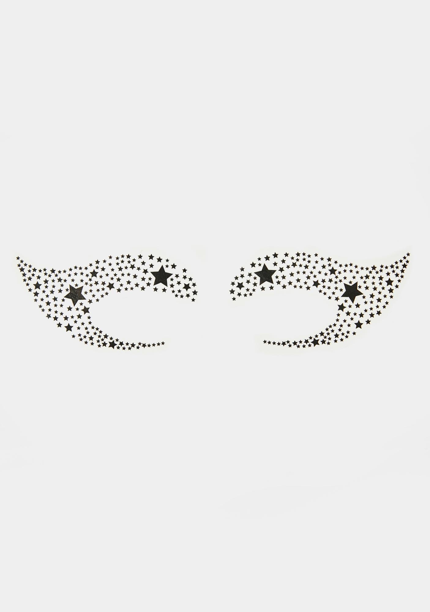 Sonic Starlet Temporary Eye Tattoos