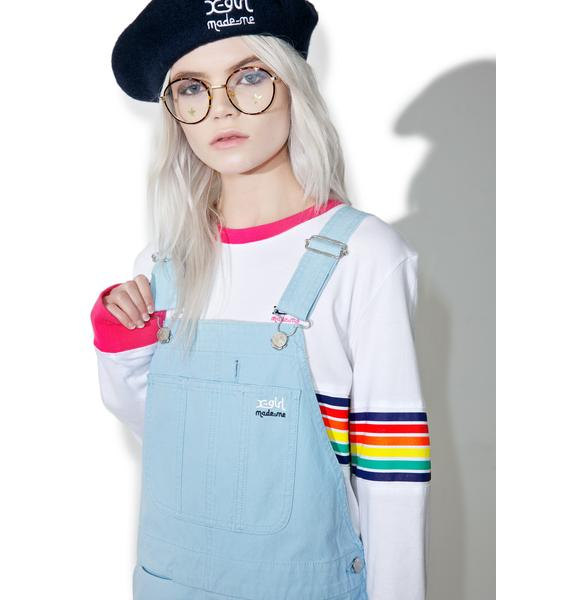 MadeMe x X-Girl Canvas Overall Dress