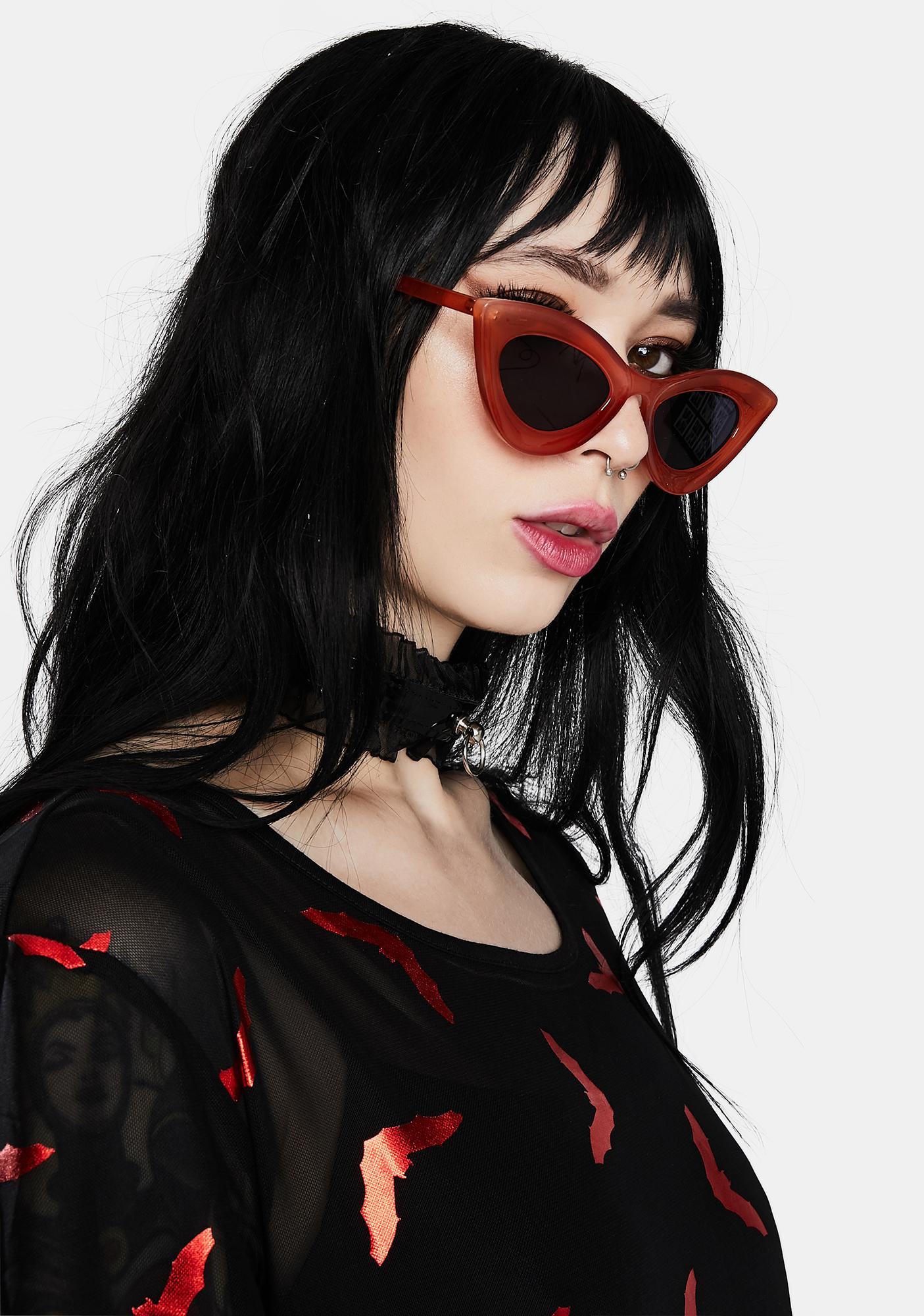 Ruby Squeeze Me Cat Eye Sunglasses