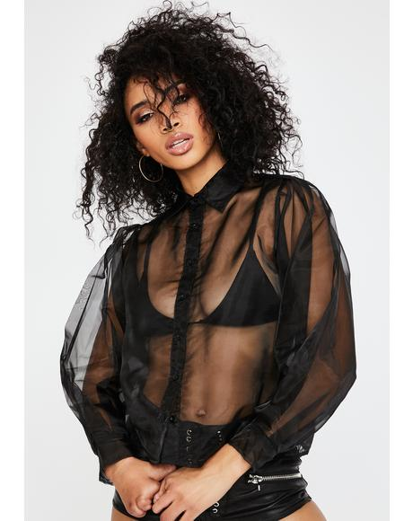 Makiza Sheer Shirt