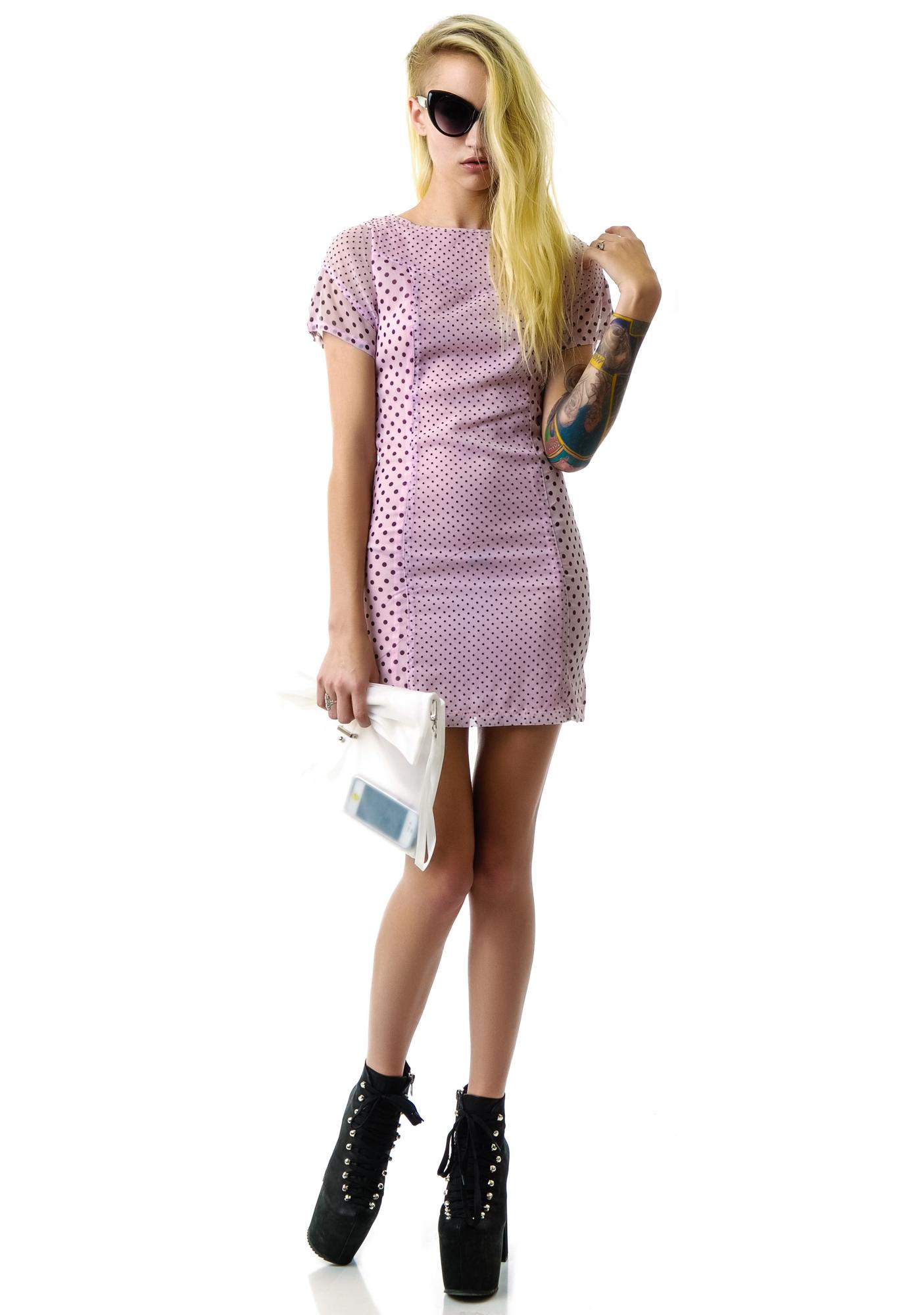 One Teaspoon Mean Cat Dress