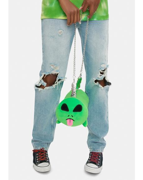 Alien Whole Gang Plush Carrying Bag