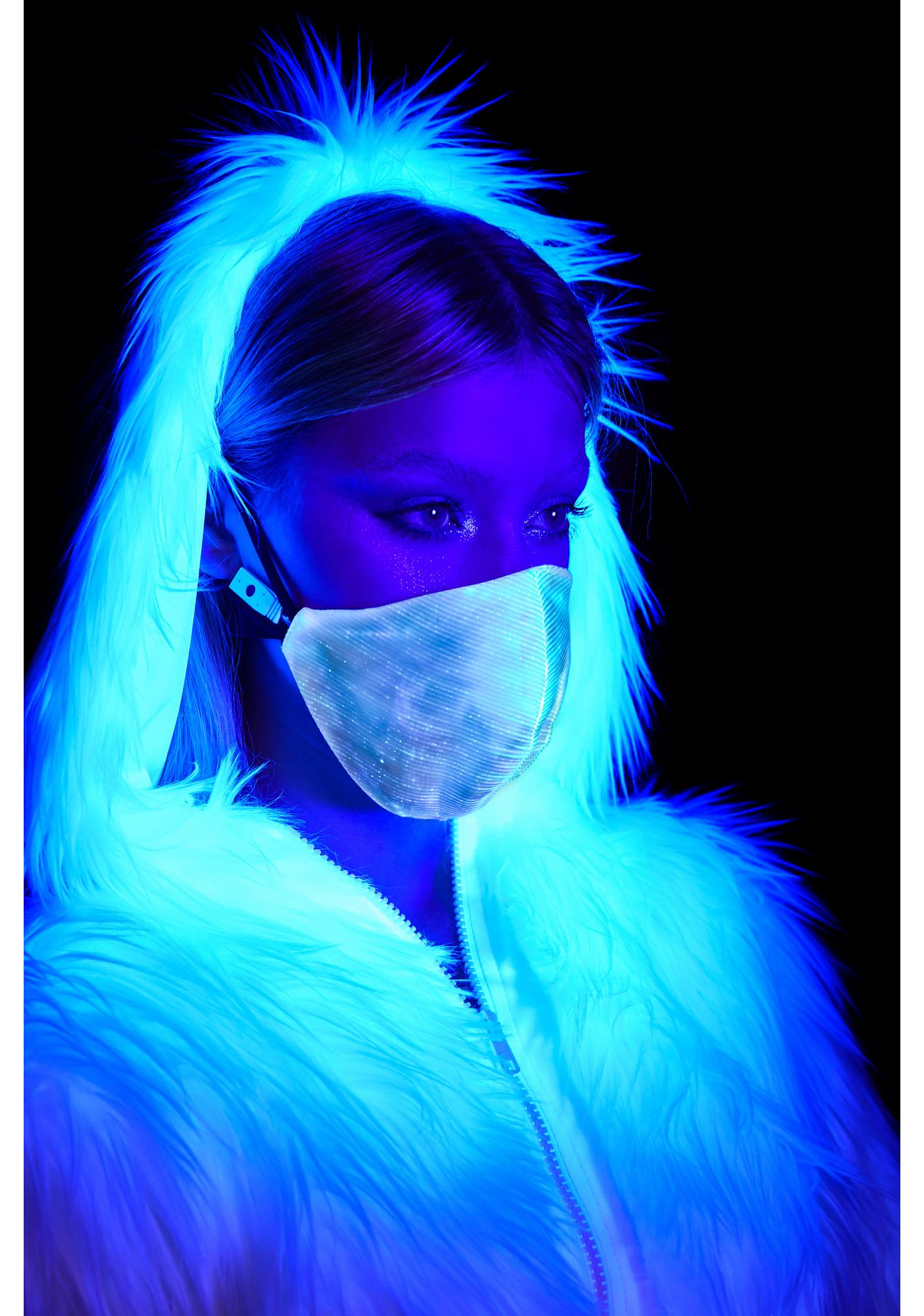 Cyberdog Light Up Surgical Mask