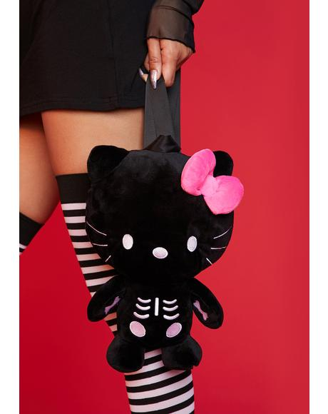 Killed With Kindness Plush Backpack