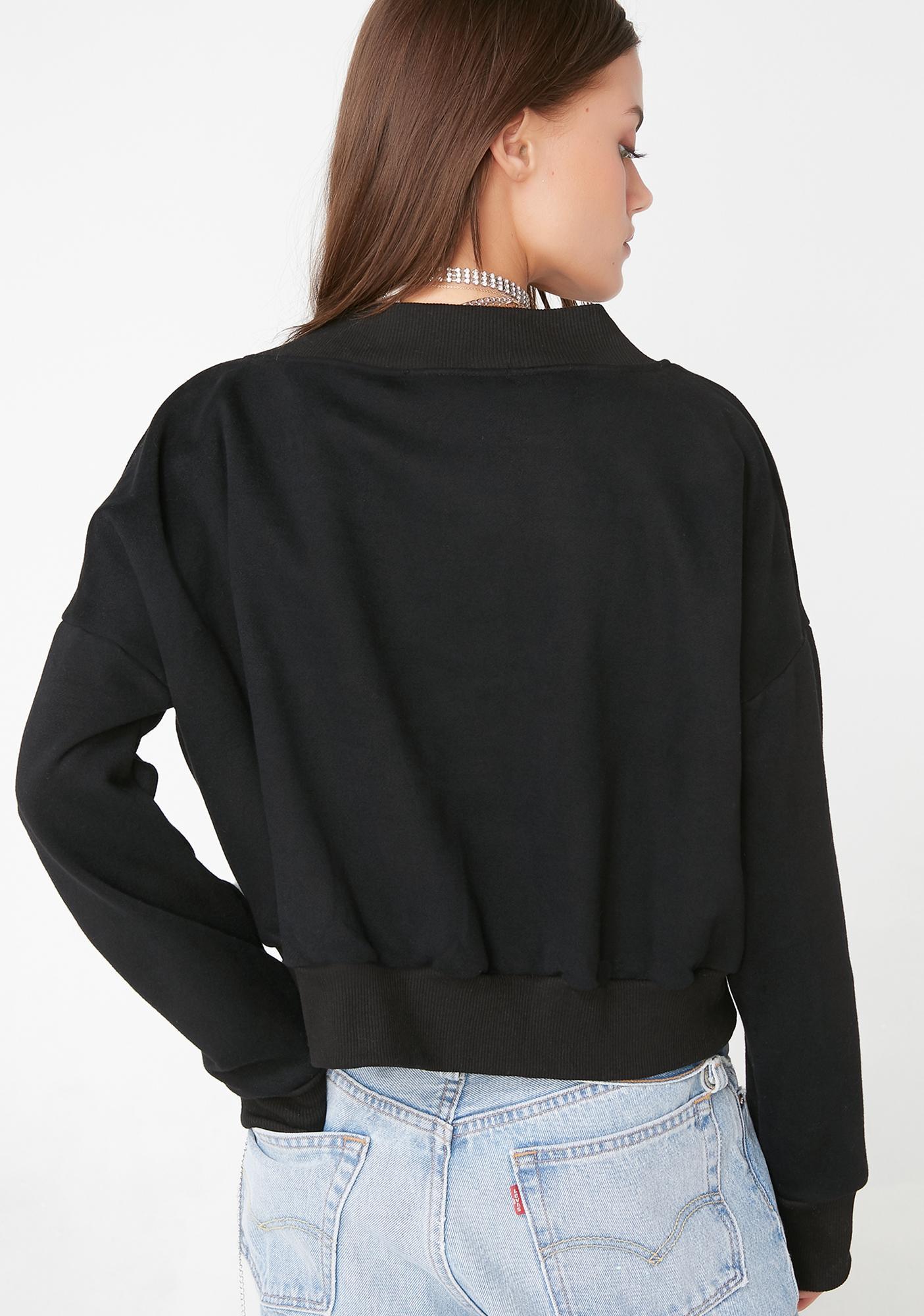 My Mum Made It Midnight V-Neck Sweater