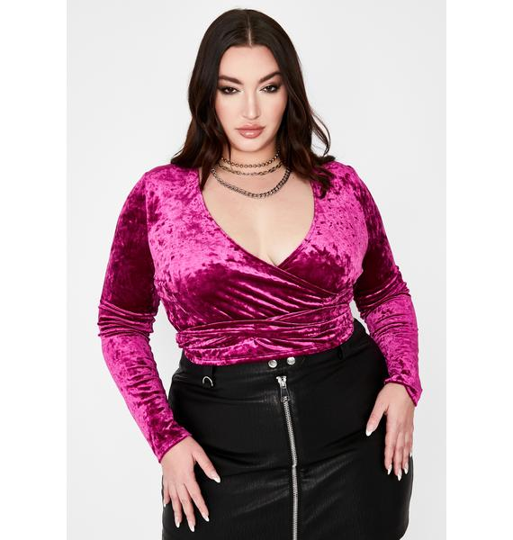 Ur Nothing To Me Velvet Top