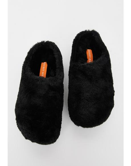 Harper Ice Cap Fur Slippers