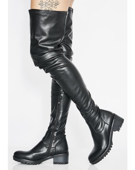 Surgical Thigh High Boots