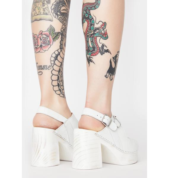Free People Belem's Clog Heels
