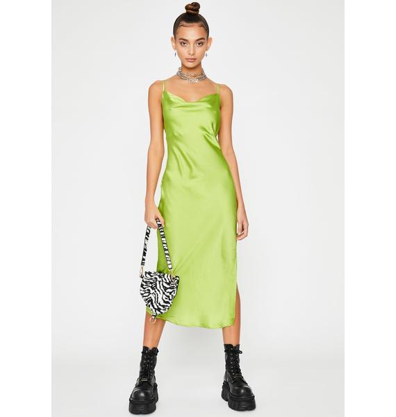 Glitzy Bish Slip Dress