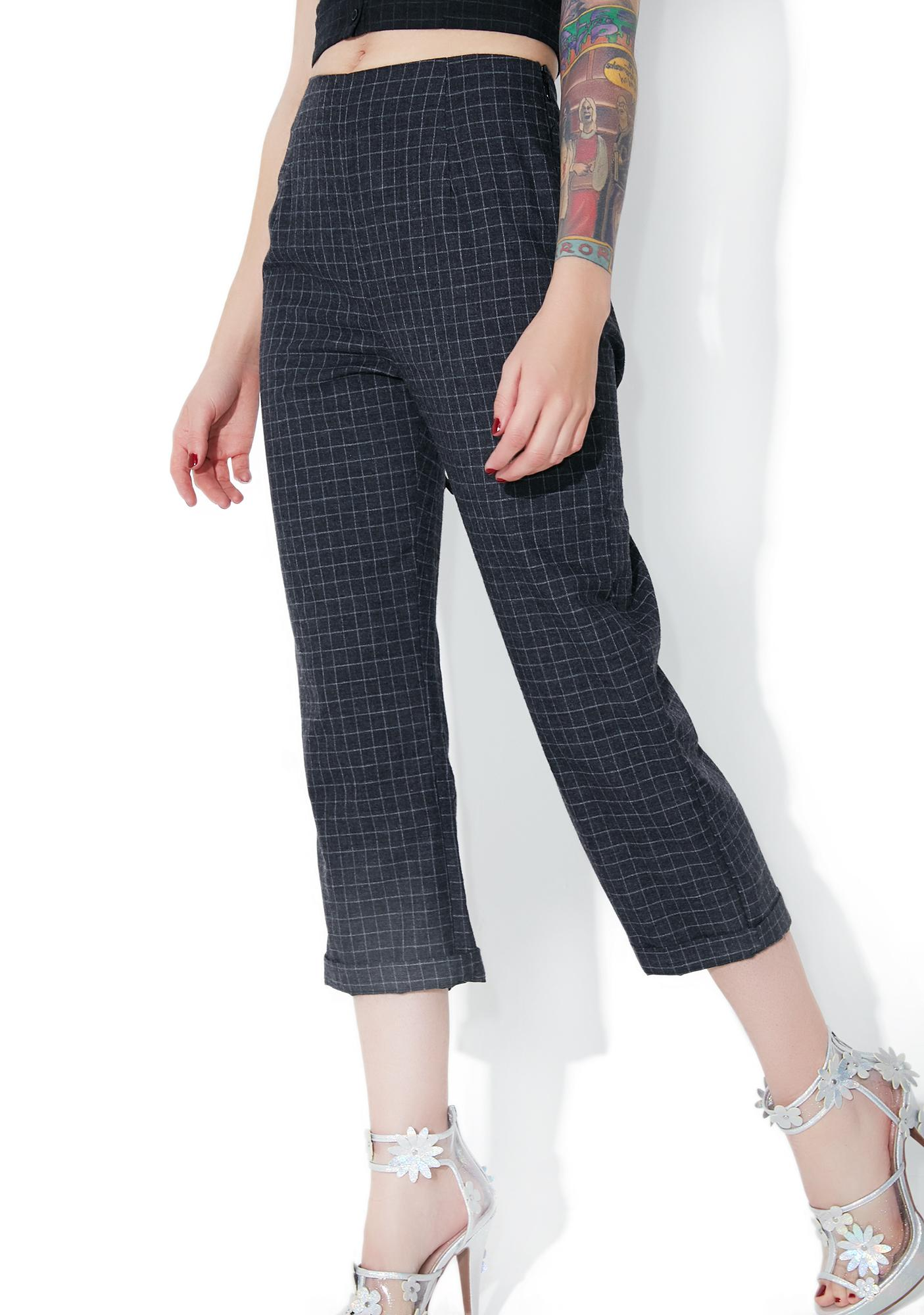 Secret Network Cropped Pants